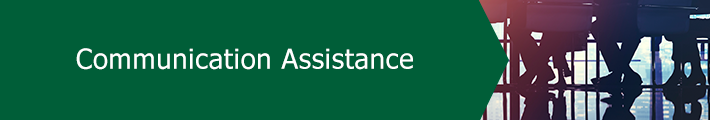 Communication Assistance